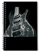 Electric Guitar Musician Player Metal Rock Music Lead Black Spiral Notebook