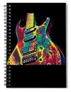 Electric Guitar Musician Player Metal Rock Music Lead Spiral Notebook
