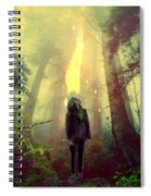 Elf With Flame Spiral Notebook