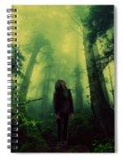 Elf With Halo Spiral Notebook