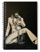 Elvis 1970 - Concho Suit Spiral Notebook