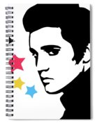 Elvis Presley 4 Spiral Notebook