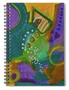 Emerald Dreams Spiral Notebook