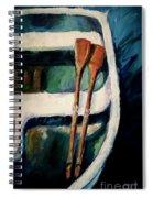 Empty Boat Spiral Notebook