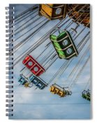 Empty Swings Spiral Notebook