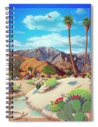 Enchanted Desert Spiral Notebook