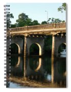 End Of An Era, East Innisfail Jubilee Bridge, Fnq Au  Spiral Notebook