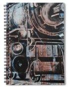 Engine #25 Spiral Notebook