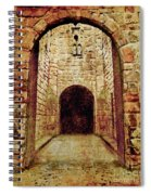 Enter Medieval Spiral Notebook