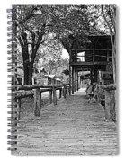Entering Town Spiral Notebook