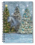 Equine Holiday Spirits Spiral Notebook