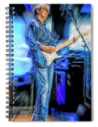Eric Clapton Slowhand Spiral Notebook