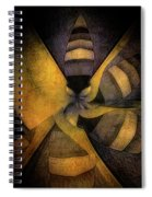 Escape The Hive Spiral Notebook