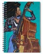 Esperanza Spalding Spiral Notebook