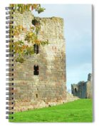 Etal Castle Tower And Gatehouse Spiral Notebook