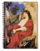 Euterpe 1872 Spiral Notebook