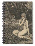Eva From Eva Und Die Zukunft Spiral Notebook