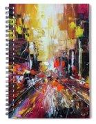 Evening Avenue Spiral Notebook