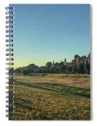 Evening Circus Spiral Notebook