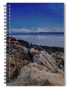 Evening In Tromso Spiral Notebook