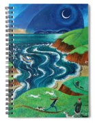 Evening Sea Breezes Spiral Notebook