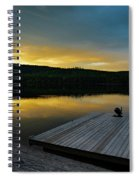 Evening Stillness Spiral Notebook