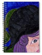 Evening Walk Spiral Notebook
