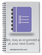 Eventdex- It's All About Event Management Spiral Notebook