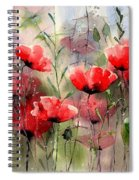 Everything About Poppies Spiral Notebook