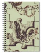 Evidential Mystery Spiral Notebook