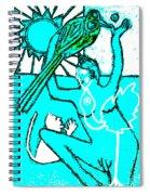 Evolution Of Birds Poster 13 Spiral Notebook