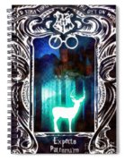 Expecto Patronum Spiral Notebook