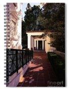 Exterior Amazing Getty Villa  Spiral Notebook