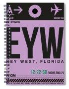 Eyw Key West Luggage Tag I Spiral Notebook