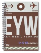 Eyw Key West Luggage Tag II Spiral Notebook