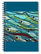 F Is For Fish Spiral Notebook