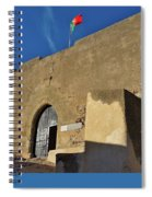 Facade Of The Medieval Castle Of Castro Marim Spiral Notebook