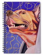 Facing The Wind Spiral Notebook
