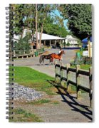 Fairgrounds In Rhinebeck New York Spiral Notebook