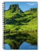 Fairy Glen, Isle Of Skye Spiral Notebook