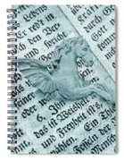 Fairytale Theme With Pegasus Horse Spiral Notebook