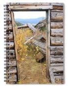 Fall Door 2 Spiral Notebook