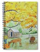Fall Fun Spiral Notebook