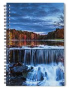 Fall In The Hudson Valley  Spiral Notebook
