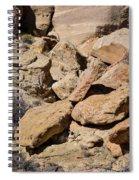 Fallen Sandstone Boulders Spiral Notebook