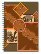 Falling Into Fall G106 Spiral Notebook