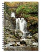 Falls At Inversnaid In Autumn Spiral Notebook