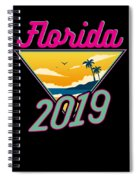 Family Vacation 2019 Florida Spiral Notebook
