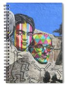 Famous Contemporary Artists Mural Spiral Notebook