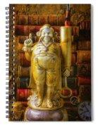 Fancy Pen Holder Spiral Notebook